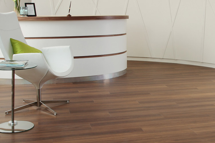 Exotic Wallnut Commercial Flooring