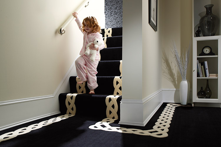 Bespoke carpet design by Bronte Carpets Ltd.
